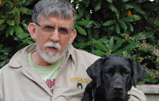 Service Dogs Help Veterans with Post-Traumatic Stress Disorder